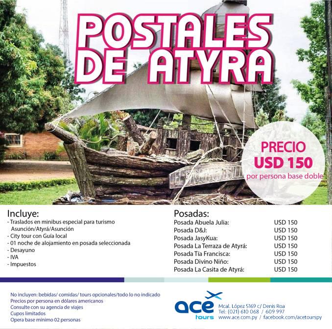 Postales De Atyra Ace Tour S R L Viajes Y Turismoace